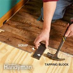 Awesome Flooring Tapping Block