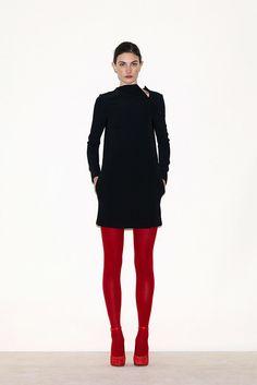 Céline Pre-Fall 2010 Fashion Show - Jacquelyn Jablonski