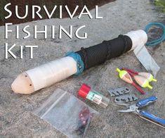 Cool DIY Survival Fishing Kit #survival #preppers