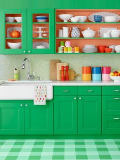 11 ways to paint almost anything--including kitchen cabinets, canisters, and even the floor! #hgtvmagazine http://www.hgtv.com/design/make-and-celebrate/handmade/11-ways-to-paint-almost-anything-pictures?soc=pinterest