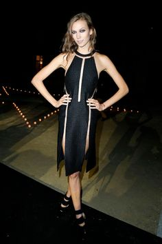 Carine Roitfeld's MAC Party in Paris: Karlie Kloss