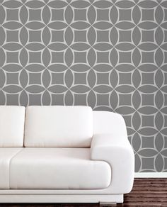 Cool Wall Paper Tiles Go On Like Stickers And Come Off