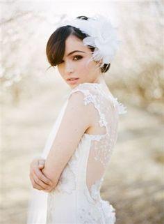 Dreamy wedding dress by Claire Pettibone