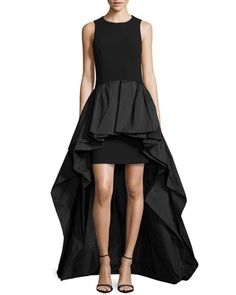 January...Crepe Tank Peplum Gown by Michael Kors at Neiman Marcus.