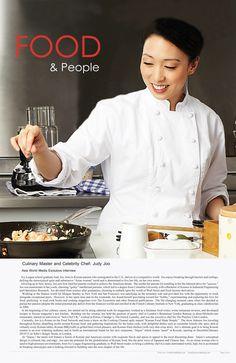 #AsiaWorldMedia Exclusive Interview with International #ChefJudyJoo..Page 6