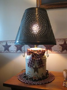 primitive lighting ideas. lamp need this for my primitive lighting ideas s