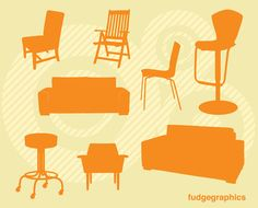 some chairs