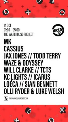 Todd Terry - The Warehouse Project - October 14, 2017 - Manchester UK
