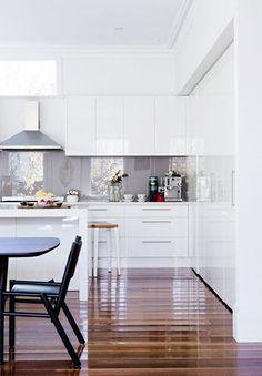 high gloss. #kitchen #interior_design