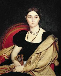 Portrait de Madame Devaucey (sketch). Jean Auguste Dominique Ingres