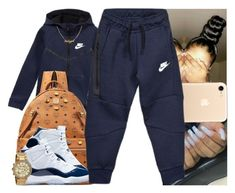 """""""Untitled #1396"""" by msixo ❤ liked on Polyvore featuring NIKE, MCM and Michael Kors"""
