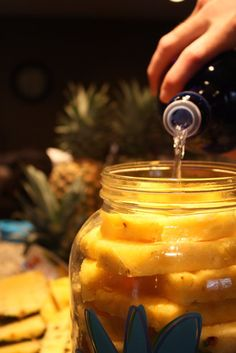 Capital Grille's Pineapple Infused Vodka.  Perfect summer drink!