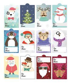 Christmas Tree Lots, Christmas Tag, Christmas Crafts, Christmas Decorations, Xmas, Free Printable Christmas Gift Tags, Christmas Labels, Christmas Stickers, Diy And Crafts