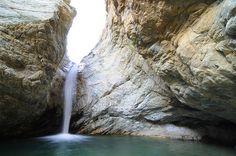 Keyhole Falls, San Gabriel Mountains