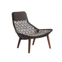kettal maia lounge chair teak
