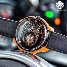 The orange hautlence HL-RQ 05.