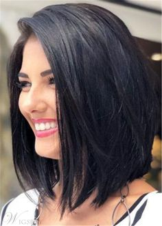 Bob Hairstyles Cute Long Bob Haircuts for Beautiful Women 2018 Cortes Longos de Cabelo Bob Medium Hair Cuts, Short Hair Cuts, Short Hair Styles, Bob Hair Cuts, Medium Bobs, Long Bob Styles, Hair Styles Medium Bob, Women Hair Styles, Should Length Hair Styles