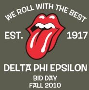 Delta Phi Epsilon-Does it get any cooler than channeling the Stones?