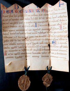 Carta de la Clerecía de Ledesma. 1252 - Indenture - Wikipedia, the free encyclopedia