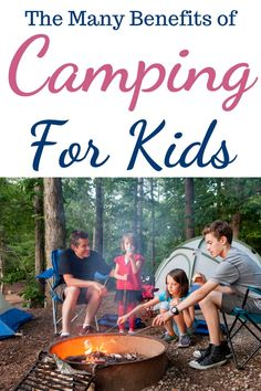 I never went camping as a child and always felt like I was missing out on something exciting. When we had kids I decided to give camping a go, partly because I didn't want them to feel like they were missing out, and partly because it was a cheap way to have a holiday. The kids loved it from day one and I enjoyed seeing them happy so we carried on doing it. II really think there are benefits of camping for kids, here are my top 5. Camping With Kids, Family Camping, We Carry On, The Quiet Ones, Breakfast Pastries, Gin And Tonic, Social Skills, Camping Hacks, When Us