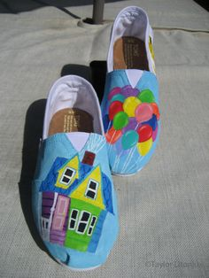 up Like I love the creativity of making your own shoes reflect what you like