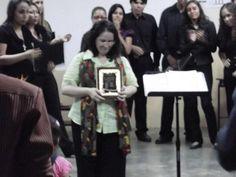 Mi Maestra querida recibiendo un Reconocimiento a su 30° Aniversario de Carrera Artística! Silena Martínez.