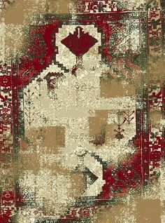 Bloomsbury Market Dishman Cream/Red Indoor/Outdoor Area Rug Rug Size: x Red Rugs, Indoor Outdoor Area Rugs, Country Of Origin, Power Loom, Rug Making, Primary Colors, Rug Size, Decorative Pillows