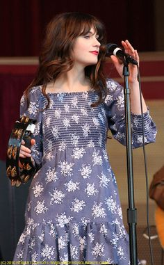 What Zooey was wearing when I saw   She & Him in Salt Lake!