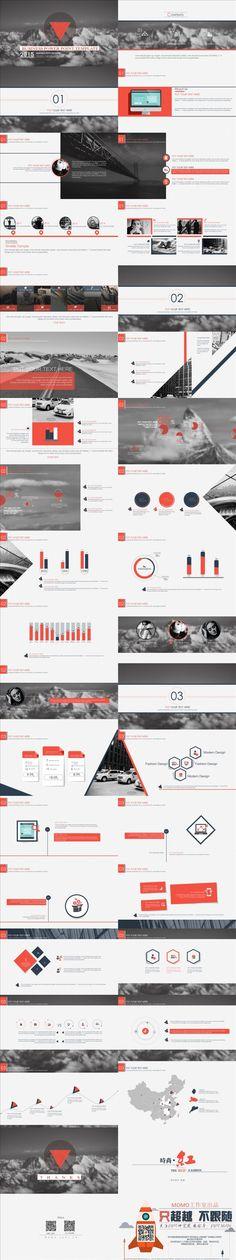 (국외정보) #PPT 디자인 입니다. 심플한 레이아웃 배치가 깔끔하게 느껴지며, 다양한 그래프들이 시선을 잡는다고 생각됩니다.