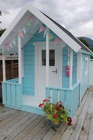 Huset ved fjorden: Velkomen inn i leikehytta :)