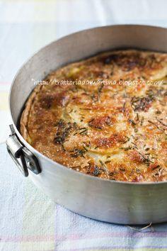Tarte di patate alla parmigiana - Trattoria da Martina - cucina tradizionale, regionale ed etnica