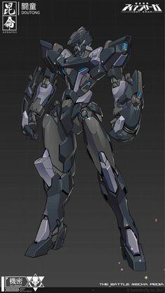 Arte Gundam, Gundam Art, Game Character Design, Character Concept, Character Art, Futuristic Robot, Futuristic Armour, Arte Robot, Robot Art