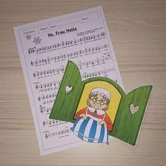 """Kleiner Liedertipp Beim Stöbern im Netz bin ich auf das Lied """"He, Frau Holle"""" gestoßen und dachte, das probiere ich mal in meinen Musikkla..."""