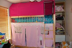 Instructions on How to Make a Bottom Bunk Bed Tent