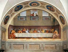 Il Cenacolo è un grande affresco (525x871 cm) di Andrea del Sarto, databile al 1511-1527 circa e conservato nel Museo del Cenacolo di Andrea del Sarto, vicino la chiesa di San Salvi, a Firenze.