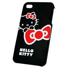 HUSA HELLO KITTY HKHAR4BL BLACK PT. IPHONE4