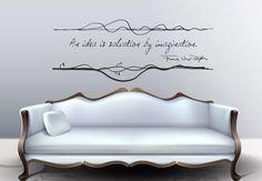 Architectuur Lloyd Wright inspirerende citaat en door cutnpasteshop