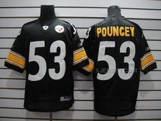 http://www.xjersey.com/pittsburgh-steelers-53-pouncey-black-jerseys.html PITTSBURGH STEELERS 53 POUNCEY BLACK JERSEYS Only 32.17€ , Free Shipping!