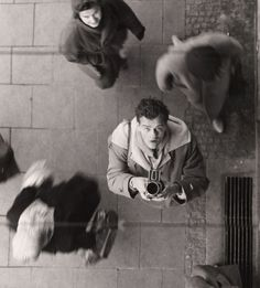 Peter Keetman, Self-Portrait with Camera, ca 1950