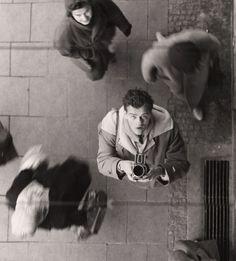 Peter Keetman Self-Portrait with Camera, ca 1950