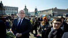 Minister Frans Timmermans van Buitenlandse Zaken was vandaag op bezoek in #Kiev. Vanavond keert hij weer terug naar Nederland en zit vlak na de landing in de #Nieuwsuur-studio om te vertellen over zijn bezoek.