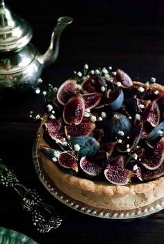 un pedacito de cielo: Tarta de Higos y Requesón