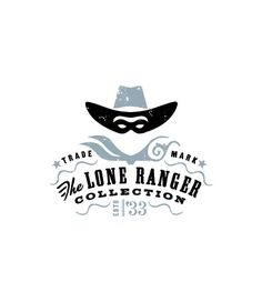 The Lone Ranger Collection.and other cool logos 2 Logo, Typography Logo, Graphic Design Typography, Logo Branding, Branding Design, Lettering, Brand Identity, Design Logos, Game Logo