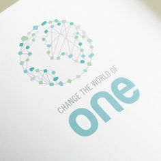 Logo for Change the world of one