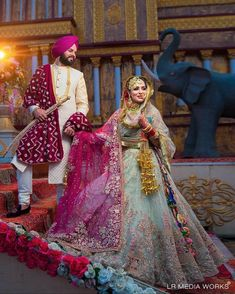 Best Of Punjabi Groom Outfits That You Must Bookmark For Your Wedding Indian Wedding Couple, Sikh Wedding, Wedding Attire, Wedding Goals, Wedding Events, Wedding Ideas, Groom Wear, Groom Outfit, Groom Attire