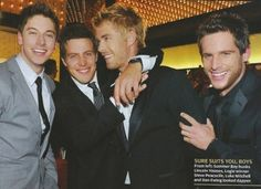 Home and Away hotties suited up