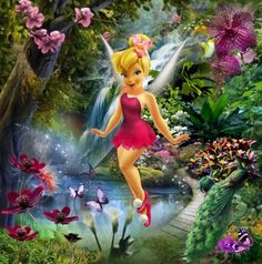 If Tink were a Plant Talent fairy