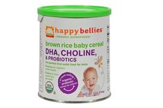 Happy Baby Happybellies Organic Brown Rice Baby Cereal - 7 Oz - Case Of 6  #eco #health #baby #ec #vitamin $28.36 #organic #natural #ecofriendly #sustainaable #sustainthefuture