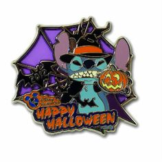 Stitch Halloween 2012 Disney Vacation Club DVC Exclusive Pin LE 2000