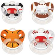 NUK Sports Silicone Orthodontic Pacifiers, 2ct, 6-18 months (Design May Vary) $4.47